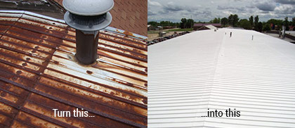 Metal Roof Coatings Pennsylvania Manco Contracting